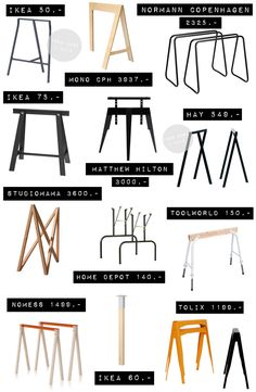Diy Furniture Tables Kitchen - New ideas Home Office Design, Interior Design Living Room, Ikea Table Legs, Diy Furniture Table, Home Depot, Deco Table, Room Decor Bedroom, Diy Home Decor, Decoration