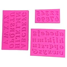 Free shipping 3 d English letters and Numbers fondant cake mould soap kitchen baking chocolate silicone mold FT 182 on Aliexpress.com | Alibaba Group