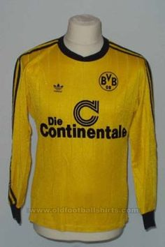 Borussia Dortmund Home football shirt 1989 - 1991