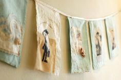 dance around in a ring narrative bunting by grrl+dog by grrl+dog, via Flickr