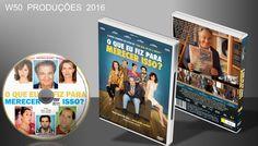 O Que Eu Fiz Para Merecer Isso - DVD 1 - ➨ Vitrine - Galeria De Capas - MundoNet | Capas & Labels Customizados