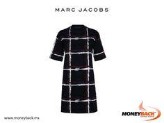 El vestido de manga corta con estampado estilo tartán de la marca Marc Jacobs está hecho de algodón elástico y cuenta con un moderno diseño. ¡Es un estampado único en un vestido único! Ven a nuestro módulo Moneyback con tu ticket de compra de Marc Jacobs México ¡y obtén un reembolso de impuestos para turistas extranjeros! #devolucióndeimpuestos