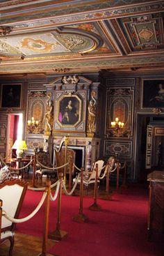 Interior of Chateau de Cheverny , France