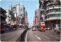 Old Hong Kong in Color Photos from 1953 1985 1 650x445 pic on Design You Trust