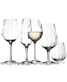 Orrefors Dizzy Diamond Stemware Collection & Reviews - Glassware - Dining - Macy's
