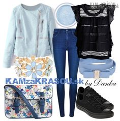 #kamzakrasou #sexi #love #jeans #clothes #dress #shoes #fashion #style #outfit #heels #bags #blouses #dress #dresses #dressup #trendy #tip #new #kiss #kisses #kissingsperky Úžasná bledomodrá bunda - KAMzaKRÁSOU.sk