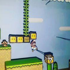 Super Mario World maquete 3D.  Confira nosso canal no YouTube: Zero Games.  #nintendo #supernintendo #snes #mario #mariorun #colagem #maquete #games #videogame http://xboxpsp.com/ipost/1493039803355132156/?code=BS4V8pqgHD8