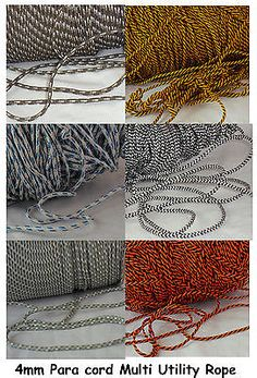 4mm #parachute para cord #lanyard sailing knot bracelet #survival boat utility ro, View more on the LINK: http://www.zeppy.io/product/gb/2/281350513086/