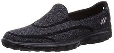 3 UK, Black, Skechers Gowalk 2 Super Sock Women's Walking Shoes