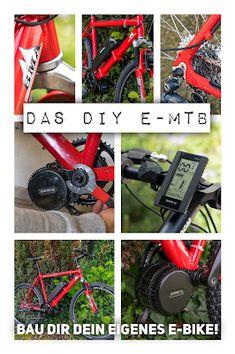 So baust du dir dein eigenes E-Bike mit Mittelmotor How to build your own mid-engined e-bike Motorcycle Design, Bike Design, E Bike Mittelmotor, Yoga Style, Diy Go Kart, E Mtb, Sports Activities, Street Bikes, Build Your Own