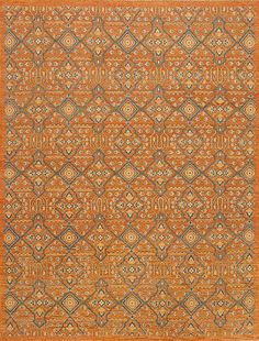 Caspian - Enzo - Samad - Hand Made Carpets Orange Rugs, Carpet, Handmade, Hand Made, Rug, Arm Work