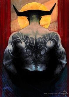 Aries - Iron Bull Dragon Age Zodiac cards :D Patreon // BuyMeACoffee