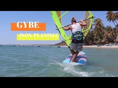 In this video we are going to be taking a look at the gybe (or jibe as some may spell it). Specifically we will be looking at the non planing gybe, which is . Good Posture, Best Foundation, Kite, Coaching, Surfing, Rocks, Boat, Education, Youtube