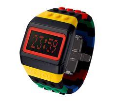 Reloj Lego Negro Multicolor. http://www.tutunca.es/odm