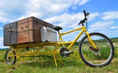 Amazing Cool Bicycles - #searchlocated - AtomicZombie - Cargo Hauler