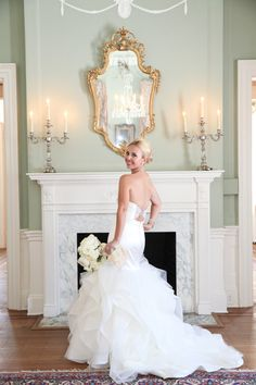 Southern elegance | Photography: Jennifer Bearden Photography - jenniferbearden.com/  Read More: http://www.stylemepretty.com/2015/03/26/from-say-yes-to-the-dress-to-an-elegant-wedding-at-lowndes-grove/