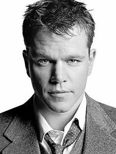 Matt Damon/guy headshot