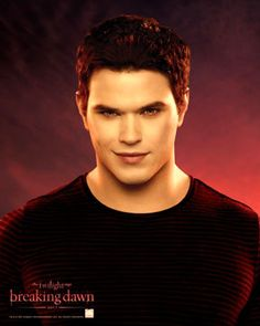 breaking dawn. emmett. Love the actor and love that they actually let him have lines in this last movie