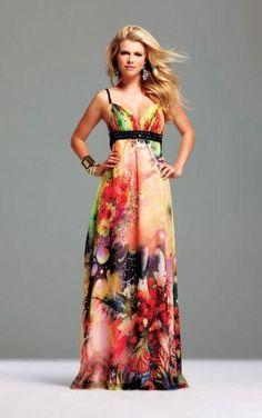 vestidos de flores 2015 - Buscar con Google