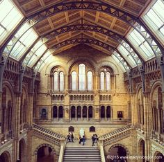 Natural History Museum in London | http://www.aladyinlondon.com
