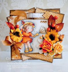 Autumn Tilda... by justsoducky - Cards and Paper Crafts at Splitcoaststampers