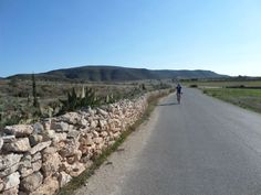 Quiet roads in this region are great for disconnecting from your everyday stress.  http://www.cyclefiesta.com/cycling-holidays/murcia-almeria.htm