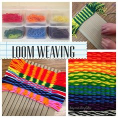 Beyond ROY G. BIV: 5 Tips to Get Started WEAVING