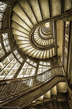 The Old Rookery Staircase