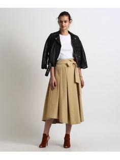 aquagirl  リボンタックフレアスカート  16,200円(税込)