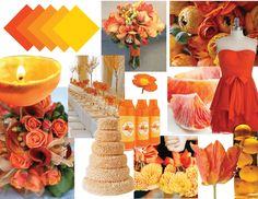 Orange and Yellows - 15 Stunning Summer Wedding Colors for a Memorable Big Day - EverAfterGuide