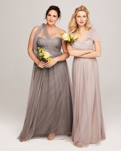 We've fallen head over heels for this ethereal and romantic bridesmaids dress by Jenny Yoo available at Nordstrom.