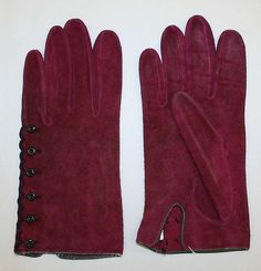 Hermès  Gloves -  French ca.1948  Leather