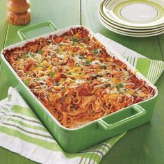 One Dish Recipe: Southwestern Chicken Pasta Bake