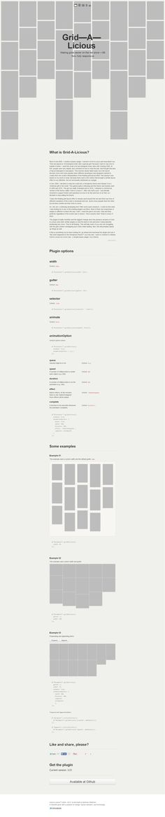 Grid-A-Licious. A Design who Speaks for Itself. #WebDesign #Design