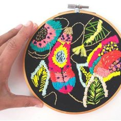 Thumbnail image for worth 1000 words: bright threads