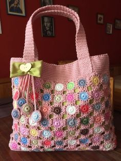 Details about Summer crochet tunic Crochet tote bag