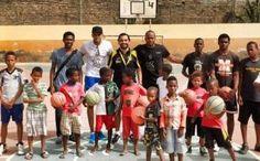 Yago Casal ejerce de maestro en Cabo Verde. El técnico del Xuven fue invitado por Joel Almeida a trabajar con escuelas del país