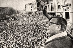 When Salvador Allende Told Us Happiness Is a Human Right Now, for the first time, an adviser recalls a remarkable 1971 conversation with Chile's socialist leader. By Luis Sepúlveda August 26 2017 Liberation Theology, Trade Center, New Pope, Henry Kissinger, Salvador Dali, Socialism, Pope Francis, Revolutionaries, Human Rights