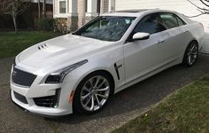 Test driving the 2016 Cadillac CTS-V