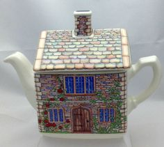 Vintage English Country House Tea Pot Gift by Pastfinds on Etsy