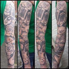 Pin By Dream Tattoo Ideas On Tattoos For Men Tattoos Music Tattoo