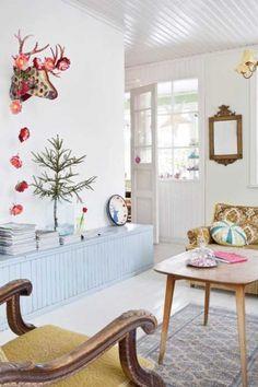 Casinha colorida: Inspiração: cottage nórdica
