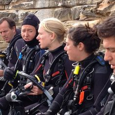 Getting ready to jump in for another fantastic dive at Bare Island in Sydney! This is where mission impossible II was filmed. We deal like film starts!