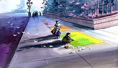 Mary Poppins, concept art