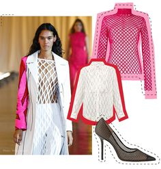 The Boldest Trends of 2020 - Stylight Insights Fishnet Dress, Sheer Dress, Katie Holmes, Sarah Jessica Parker, Chanel Party, Carrie Bradshaw, Big Fashion, Fashion Trends, Fashion News