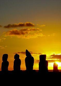 Rapa Nui National Parc, Easter Island