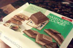 Ritter Sport Haselnuss Cookies