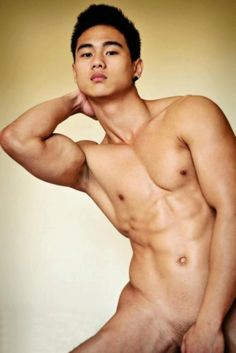 Male model nude asian