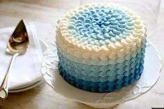 If you take a look at Pinterest, you'll quickly notice one trend: everything is ombre. On the forefront of that trend is the ombre cake -- and we just love them.