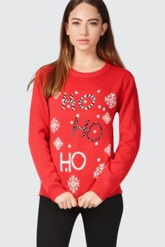 HO HO HO CHRISTMAS JUMPER 220x330 Celebrate The Season With The Perfect Christmas Jumper